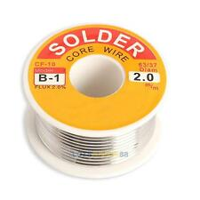 2.0mm Flux 2.0% New Tin Lead Tin Wire Melt Rosin Core Solder Soldering Wire Roll
