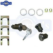 62-69 GM Door & Trunk / Front Compartment Lock Kit - Original Key Style New 135A