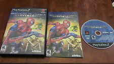 SPider-Man Friend Or Foe Sony Playstation 2 PS2 Game Complete
