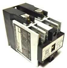 SQUARE D 8501X040 INDUSTRIAL CONTROL RELAY 110/120 VOLTS 50/60 HZ