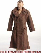 1:6 Scale Dragon Brown US Soldiers Long Coat Model F 12'' Male Action Figures