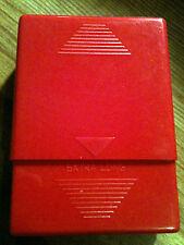 Kingstar Red Plastic 2-In-1 Kings or 100s Cigarette Pack Holder