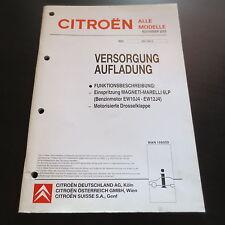 Werkstatthandbuch Citroen C5 C8 Xsara Picasso Einspritzung Magneti Marelli 6LP