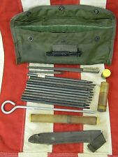 Vintage Vietnam US Army Issued Case Maintenance Equipment M16 Rifle Cleaning Kit