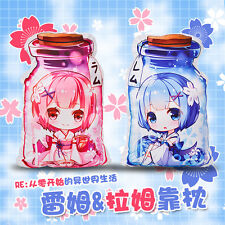 Re:Zero kara Hajimeru Isekai Seikatsu Rem&Ram Bottle Stuffed Doll Toy Cushion