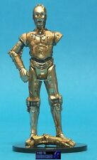 STAR WARS POTF LOOSE VERY RARE FLASHBACK C-3PO IN MINT CONDITION. C-10+
