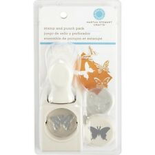 BUTTERFLY Martha Stewart Punch & Stamp Set