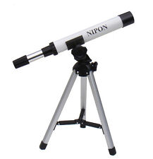 Kids telescope for astronomy and nature observation. Present for children