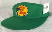 Vintage Bass Pro Shops Visor Hat NWT NOS Adjustable