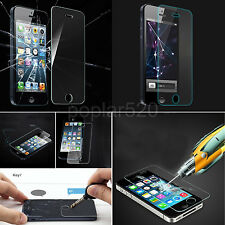 New 100% Genuine Tempered Glass Film Screen Protector For Apple iPhone 5 5S SE