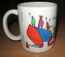 Brian Andreas StoryPeople Survival Coffee Mug Hooray!! Kids Will Turn Out 12 oz