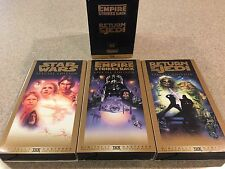 Movie Star Wars Trilogy VHS,1997, 3Tape Set, Special Edition Digitally Mastered