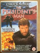 Chuck Norris THE PRESIDENT'S MAN ~ 2000 Action Thriller | UK DVD