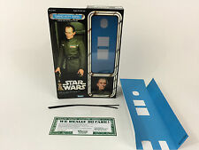 "custom Vintage Star wars 12"" grand moff tarkin box + inserts"