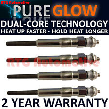 4X FOR FIAT SCUDO LDV PILOT 1.9 DIESEL HEATER GLOW PLUGS GP50303