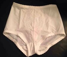 Playtex I Cant Believe Its A Girdle Brief 100% Cotton White Size 4XL NEW