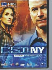 DVD BOX - CRIME SCENE INVESTIGATIONS NEW YORK CSI NY SEASON 3: 3.1   3.12