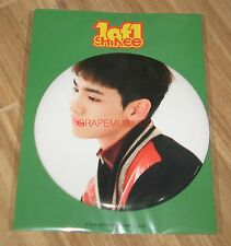 SHINee 1of1 1 of 1 SMTOWN COEX Artium SUM OFFICIAL GOODS KEY BIG BUTTON SEALED