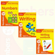 Collins Easy Learning Preschool Collection 3 Books Set(Writing,Numbers)Paperback