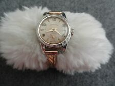 Vintage Swiss Made Harvester Wind Up Ladies Watch with a Stretch Band - Problem