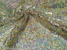 3mm MINI SEQUIN Fabric material -2 w stretch /130cm wide / Sparkling Sequins