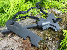 LARGE T HANDLE SWEDISH MAGNESIUM FLINT & STRIKER FIRE STEEL BUSHCRAFT SURVIVAL