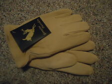 Deerskin gloves, S, HEATLOK Insulated, Leather, North American Trading, New