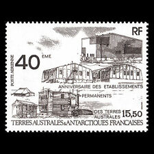 TAAF 1989 - Establishment of Permanent Antarctic Bases Architecture - Sc C10 MNH