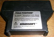 TI-99/4A POLE POSITION  CARTRIDGE  & MANUAL COPY AN ARCADE GAME BY ATARISOFT