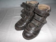 RedHead Brown Hunting Outdoor Boots Velcro Straps 10LV-BRN SIZE Womes 6 8597
