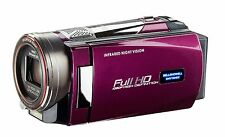 Bell+Howell DNV16HDZ 1080p HD Video Camera Camcorder with Infrared Night Vision