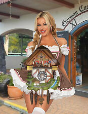 German made working musical Chalet Wood Chopper 1 Day Cuckoo Clock CK1334
