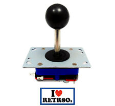 Arcade Joystick Zippyy Seimitsu clon Jamma PCB Black Negro long shaft 78mm Retro