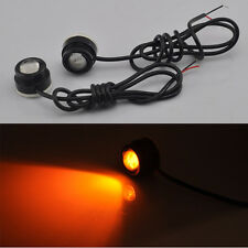 Amber High Power LED Eagle Eye Car Turn Signal DRL Fog Daytime Running Light 6W