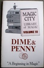 DIME AND PENNY MAGIC TRICK BOOK