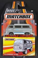 2017 Matchbox Best of (1970) Volkswagen T2 Bus STONE GREY/SERVICE AND PARTS/MOC