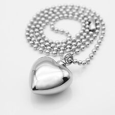 Heart Shape Pendant Locket chain to keep Memories Keepsake Jewelry Necklace