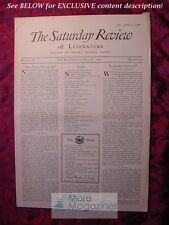 SATURDAY REVIEW May 28 1927 Wesley C. Mitchell Louis Untermeyer