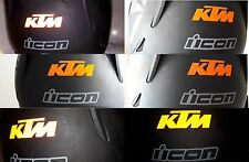 KTM aufkleber reflektierende sticker decal kit 1290 990 200 250 reflective sx
