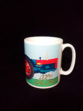Doe Dual Drive Tractor Gift Mug Fordson Major Blue/ Orange