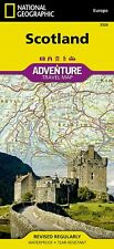 Scotland Adventure Travel Map National Geographic Waterproof