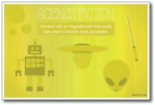 Science Fiction - New Classroom Reading and Writing Poster
