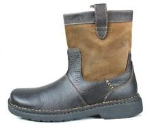 """new mens Clarks """"Walcott"""" brown leather/suede insulated boots shoes 13"""