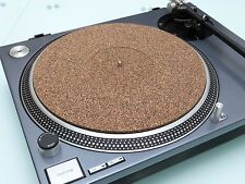 XTM2-287 X 5mm THICK CORK TURNTABLE MAT fits TECHNICS SL1200 SL1210 ETC.