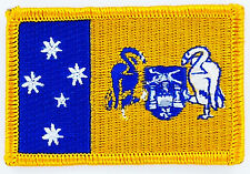 PATCH ECUSSON BRODE DRAPEAU ETAT d'Australie capitale canberra INSIGNE FLAG