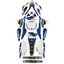 Yamaha YZ450F Graphic Kit by D'COR Visuals - Fits 2014 - 2017 YZ450F - Brand New