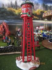 "TRAIN GARDEN HOUSE VILLAGE  "" The WATER TOWER  ACCESSORY "" + DEPT 56/LEMAX info"