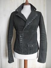 Diesel Ladies Corset Jacket Olive Green Hook & Eye Fastening  Size S/M/L 10-12