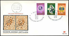 Netherlands Antilles 1973 Stamp Centenary FDC First Day Cover #C26637