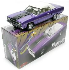 1970 Plymouth Road Runner Convertible Plum Crazy 1:18 Scale Diecast GMP 18810
